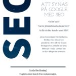 Att synas på Google med SEO – föreläsning