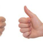 Goda / Dåliga kundomdömen påverkar din SEO